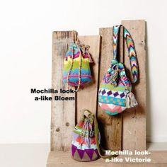 Super hippe tassen! Twee gratis Nederlandse haakpatronen! Ga naar 'bron' voor gratis patronen!