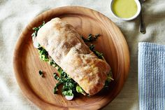 Avocado and Marinated Kale Salad Sandwich, a recipe on Food52