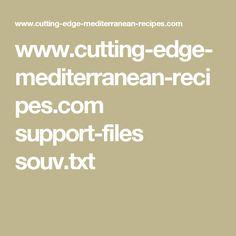 www.cutting-edge-mediterranean-recipes.com support-files souv.txt