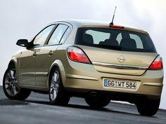 Opel Astra Hatchback (2004 - 2007).
