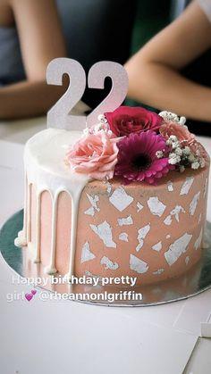 Perfect 22nd Birthday Cake