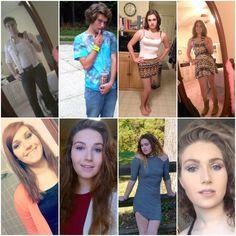 Blair Cherelstein - Pre-Trans 2012 (x2), Started HRT 2013 (x2), 1 Year HRT - 2014, 2 Years HRT ...