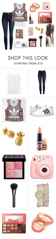 """""""Me #157"""" by shoppingismycardio99 on Polyvore featuring Aéropostale, adidas, Lilly Pulitzer, MAC Cosmetics, Givenchy, Polaroid, Gucci, maurices and Too Faced Cosmetics"""