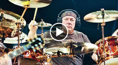 Neil's isolated drum track for Tom Sawyer... incredible.