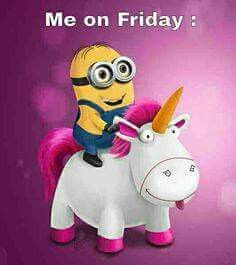 Ride a unicorn Friday