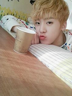 Sanha ♡ Never give up on the lovely things that make you happy ♡