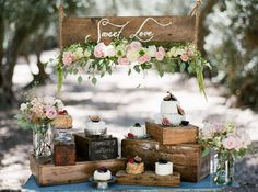 My favorite dessert table ever! Figs and roses! (photography by Stephanie Williams)