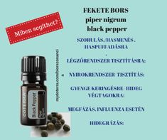 doTerra receptek - Fekete bors Influenza, Doterra, Doterra Essential Oils