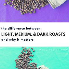 Light vs Medium vs Dark Roasts   Why The Difference Matters   Coffee   Coffee Roasting   Coffee Blog   Coffee Knowledge   Morning Coffee   mycoffeeism.com