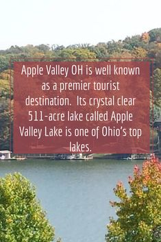 Perhaps you've heard about this place in Ohio called Apple Valley. You might be wondering what it's known for and why you should pack your bags and spend your next vacation here. Apple Valley Ohio, What Is Apple, Pack Your Bags, Retirement, Acre, Hotels, Vacation, Places, Travel