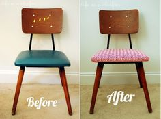 Awesome How To Reupholster A Chair: 10 Chic Ideas Photo