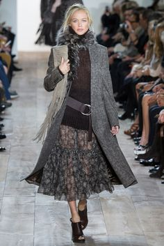 Michael Kors Collection Fall 2014 Ready-to-Wear Fashion Show - Carolyn Murphy