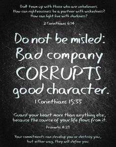 1 Corinthians 15:33