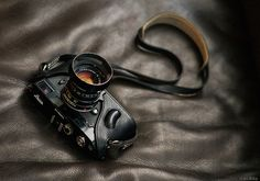 Sexy Hardware - Black Leica MP + 50mm Summicron by Rob McKay...