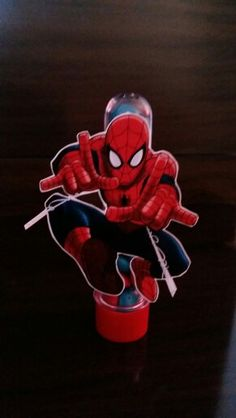 Homem-aranha - tubetes