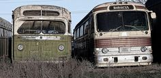 Two old Buses. by Randy Weiner Photography, via Flickr