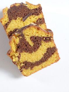Recette cake marbré chocolat-butternut - Olivia Pâtisse