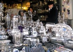 Paris flea market - silver.