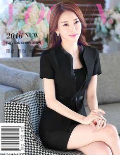 Frauen Rock Anzüge 2016 Mode Sommer Business Schlanke Frauen Rock anzüge Damen OL Arbeitskleidung Kurzarm Blazer Mit Röcke A3364(China (Mainland))