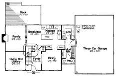 COOL House Plan ID: chp-30455, 2138, 3/2.5