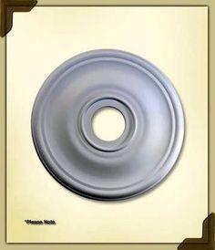 """Quorum International 7-2830-8 30"""" Ceiling Medallion Studio White Accessory Ceiling Medallions Ceiling Medallions"""