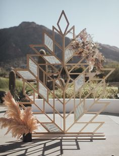 Edgy Prism Wedding Inspiration