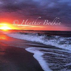 Cape May Beach Sunrise #capemay #beach #sunrise #ocean #photography #celebratecapemay