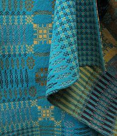 Antique Welsh tapestry blanket