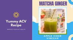 DG Speaks Apple Health Benefits, Apple Cider Benefits, Organic Apple Cider Vinegar, Acv, Pick Me Up, Gut Health, Stevia, Matcha