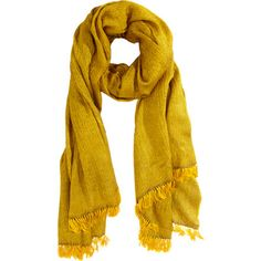 Haider Ackermann An Ambery/ Jonquil Color In Yak Khullu/Silk Diamond Weave. Finished With Knotted Fringe. Woven Scarves, Haider Ackermann, Casual Fall, Weave, Cashmere, Fashion Looks, Silk, Diamond, My Style