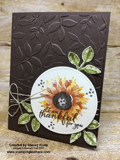Stampin\' Up! Painted Harvest created by Stacey Krats for Stamping to Share Demo Swap #stampingtoshare