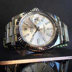 Serious contender for watch of the week!  List 6000 Deal 5250  #Rolex #DayDate2 Steel & #WhiteGold #116334