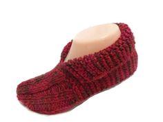 Slippers Knit Pattern Unisex Versatile Slippers by ToppyToppyKnits