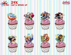 Home & Garden Creative 95th Birthday Panda Precut Cup Cake Toppers Ladies Mens Son Daughter Friend