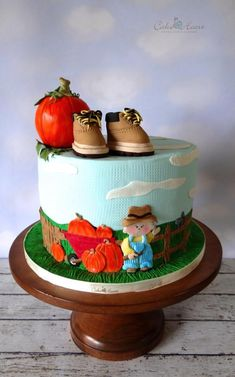 Baby's First Autumn - Cake by Cake Heart