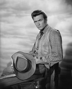 "Clint Eastwood in ""Rawhide"" ca.1959"
