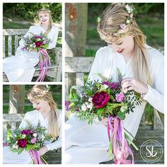 Huntingdon Wedding Photography featured in Village bystander advert with Kym Cuts Kimbolton and Florae Foray Florist Thrapston