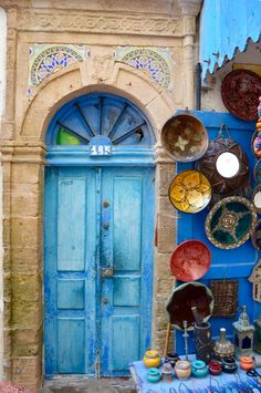 Doors of Essaouira #Morocco