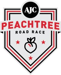 The AJC Peachtree Road Race is the largest 10K in the world. #teamsparkle #4thofjulyrunninggear #visitteamsparkleattheexpo