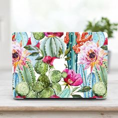 Floral Macbook Hard Case Laptop Sleeves Macbook Air 13 Macbook Pro 13 Cas - Macbook Laptop - Ideas of Macbook Laptop - Cactus Floral Macbook Hard Case Laptop Sleeves Macbook Air 13 Macbook Pro 13 Case Macbook 2017 case Painting Inspiration, Art Inspo, Cactus Art, Watercolor Paintings, Art Projects, Art Drawings, Artsy, Creative, Artwork