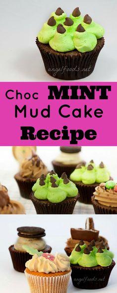 Choc Mint Mud Cake Recipe