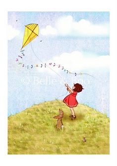 Let's go fly a kite...one thing I have always loved to do and continue to do~
