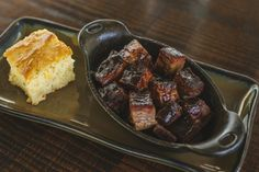Q39 -  There's burnt ends on burgers and in beans but how about alone? Burnt end appetizer are on the new menu starting Tue!