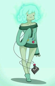 #AdventureTime BMO girl version