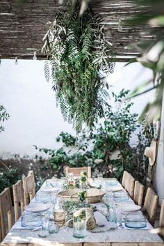 la famille marrakech morocco local milk retreat table setting