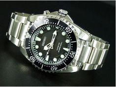 Seiko SKA371 Kinetic Dive Watch 45mm