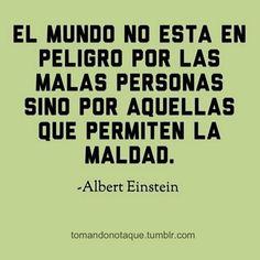 #frases célebres de maldad. -#Albert Einstein #citas