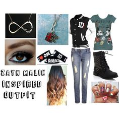 """""""Zayn Malik Inspired Outfit for Girls"""" by one-direction-outfits-and-more on Polyvore"""
