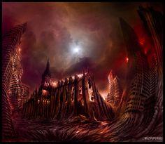 3D Fantasy | 25 Stunning Fantasy Landscape Illustrations