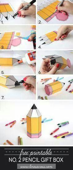 Scatolina matita